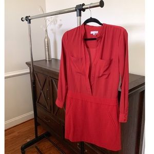 Orange Button up Dress by 1. State